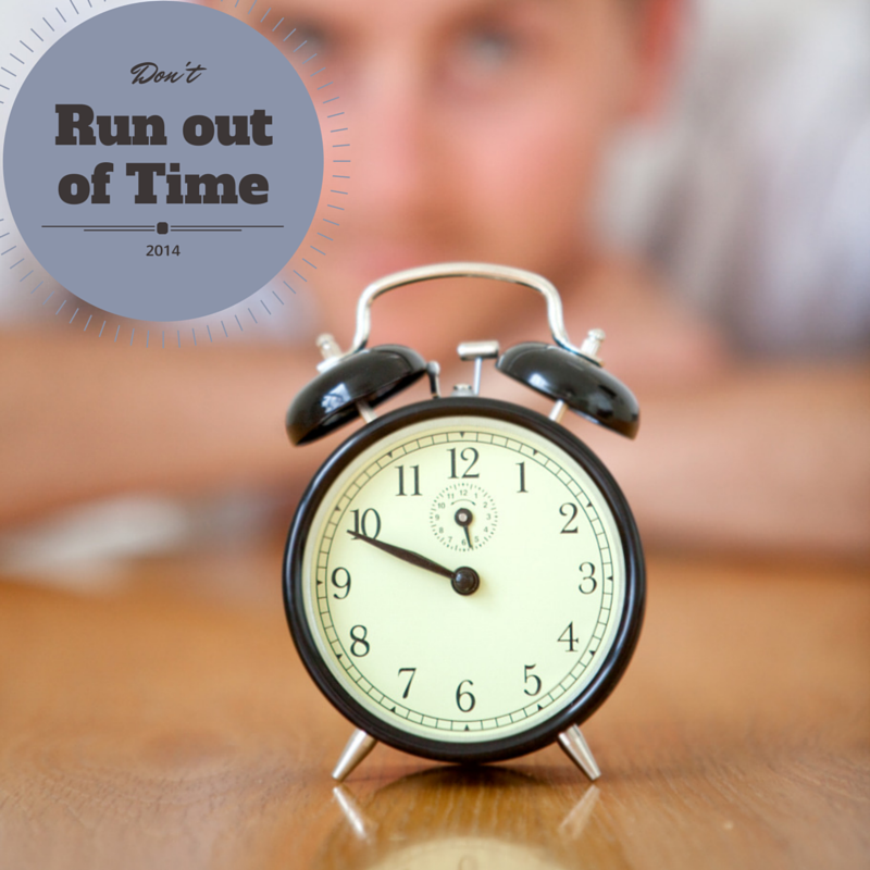 2014 Year End Tax Planning – Don't Run out of Time