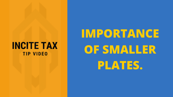The Benefit of Smaller Plates