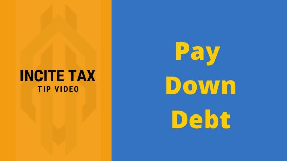 PAYING DOWN DEBT… Let's Talk About It