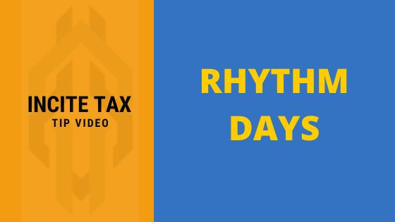 Rhythm Days Make For Healthy Finances