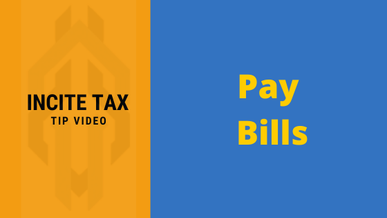Let's talk about PAYING YOUR BILLS!