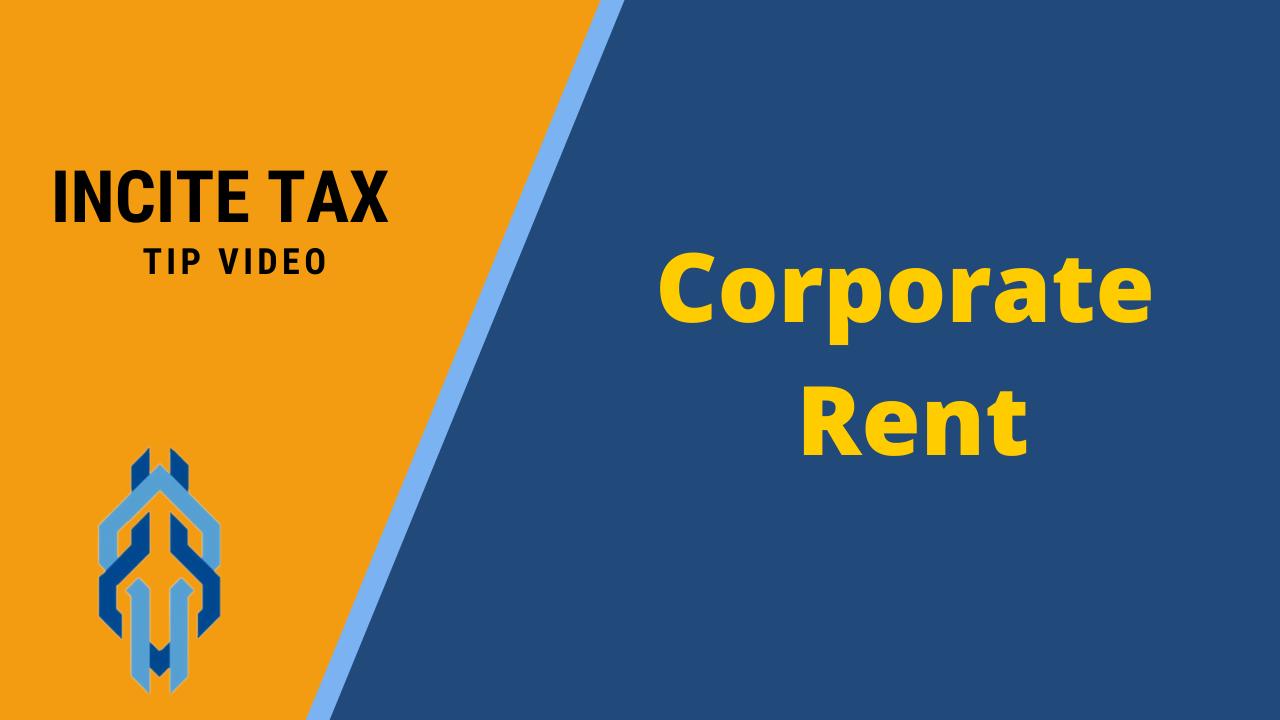 Corporate Rent
