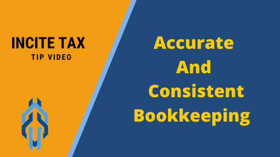 Accurate And Consistent Bookkeeping
